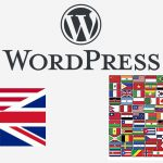 WordPress - Admin in English language and front end in another language