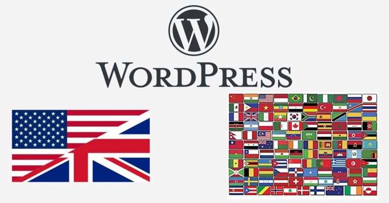 WP Admin in English and back end in another language