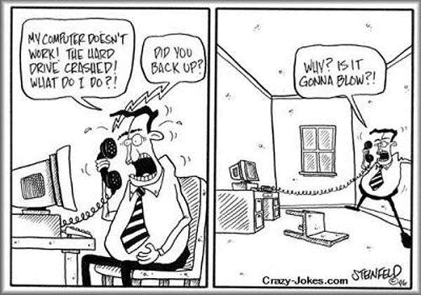 Αστεία σκιτσάκια από τη ζωή μας με τα computers