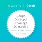 Έγινα δεκτός στο Google Developer Challenge Scholarship to the Android Basics track