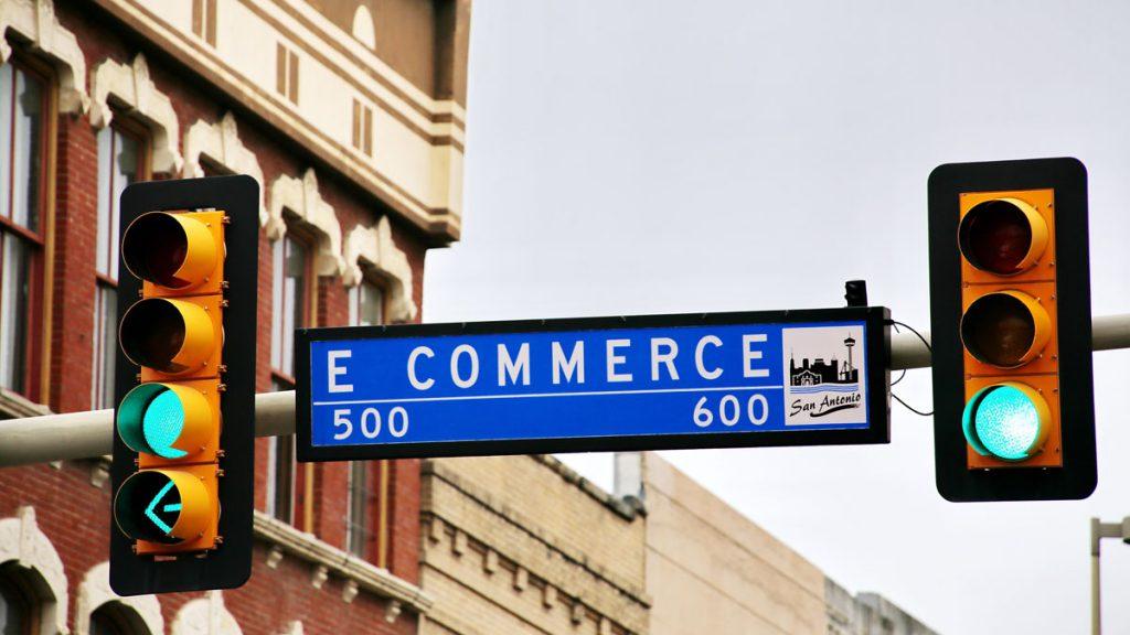 e-commerce sign